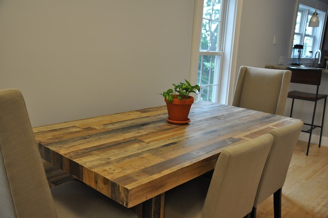 Dining Room Table Reclaimed Wood